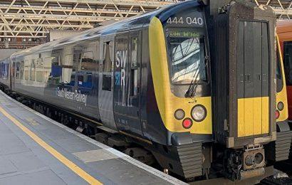 英國西南鐵路公司員工宣佈下月罷工27天